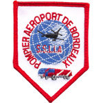 Patche Pompiers Aeroport Bordeau
