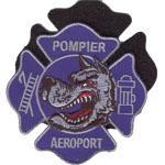 Patche Pompiers aeroport