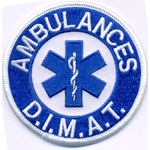 Patche Ambulances Dimat