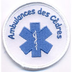 Patche Ambulances des Cedres