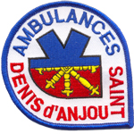 Patche ambulances St Denis