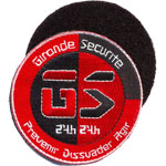 Patche Gironde Securite
