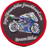 Patche Broom Biker