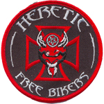 Patche Hebetic Free Biker