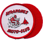 Patche Moto club avranches