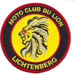 Patche Moto Club du Lion
