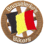Patche Brusseler's Bikers