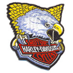 Patche Harley eagle