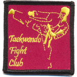 Ecusson  - Taekwondo fight club