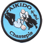 Ecusson  - aikido Chantepie