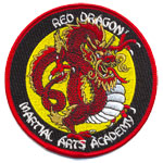 Patche Red Dragon MartialArts Academy