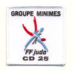Ecusson  - Groupe Minime CD 25