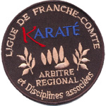 Ecusson  - Karate France-Comté