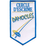 Patche escrime damocles