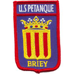 Patche US Petanque Briey